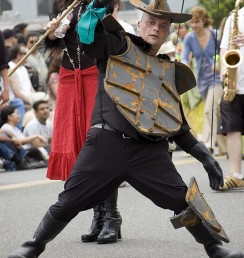 fremont parade puppet man