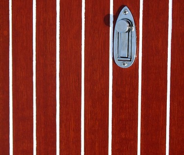 classic red speedboat pinstripes