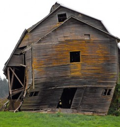 There Was a Crooked Barn...