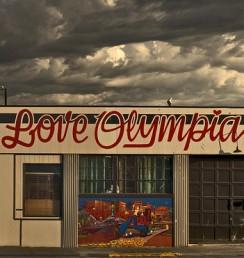 I Love Olympia! mural
