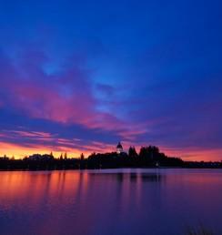 Capitol-Lake-Sunrise Olympia WA