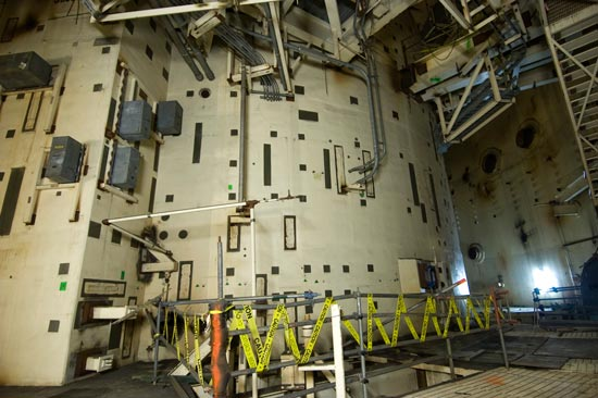 Satsop nuclear plant reactor #3 interior
