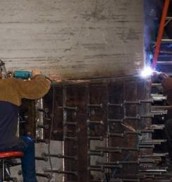 Trojan Nuclear plant welders