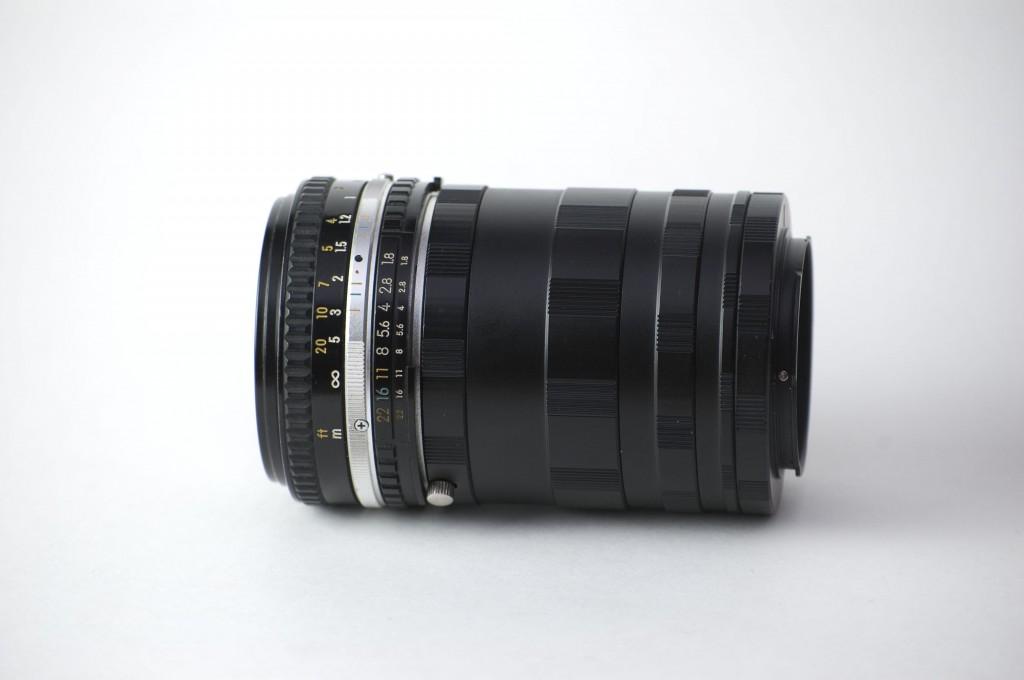 Nikon 50mm lens plus extension tubes