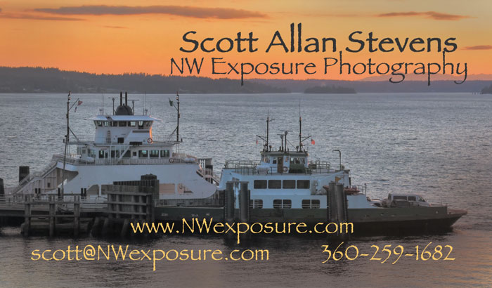 contact info: Scott Allan Stevens, NW Exposure Photography