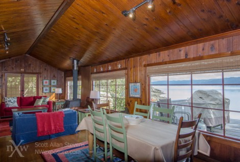 Hood Canal vacation cabin