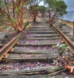 Riding the Rails - photo ©2015 Scott Allan Stevens, www.NWexposure.com