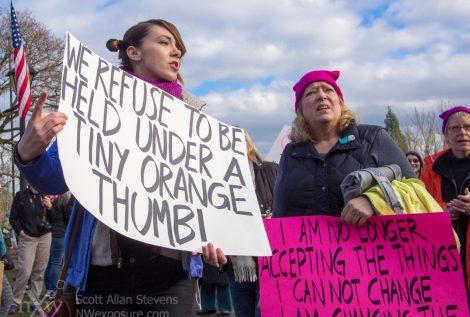 Women's March, Olympia WA
