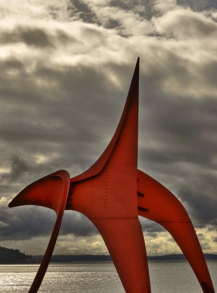 Seattle waterfront sculpture park