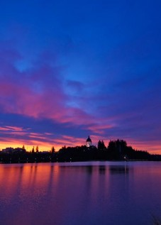 Capitol-Lake-Sunrise Olympia WA