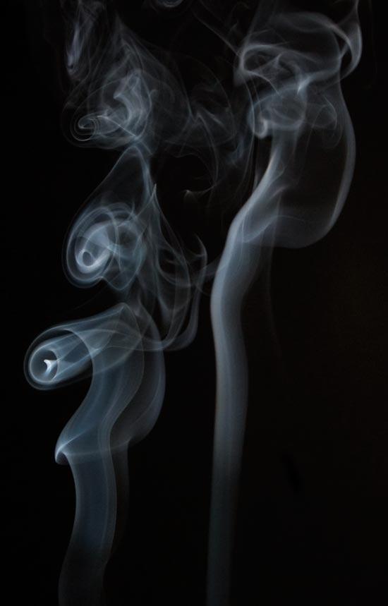 smoke on black backgroune - smoke photography
