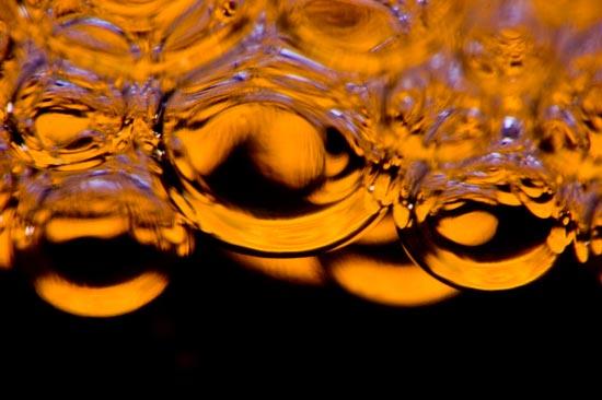 soap bubble macro photo