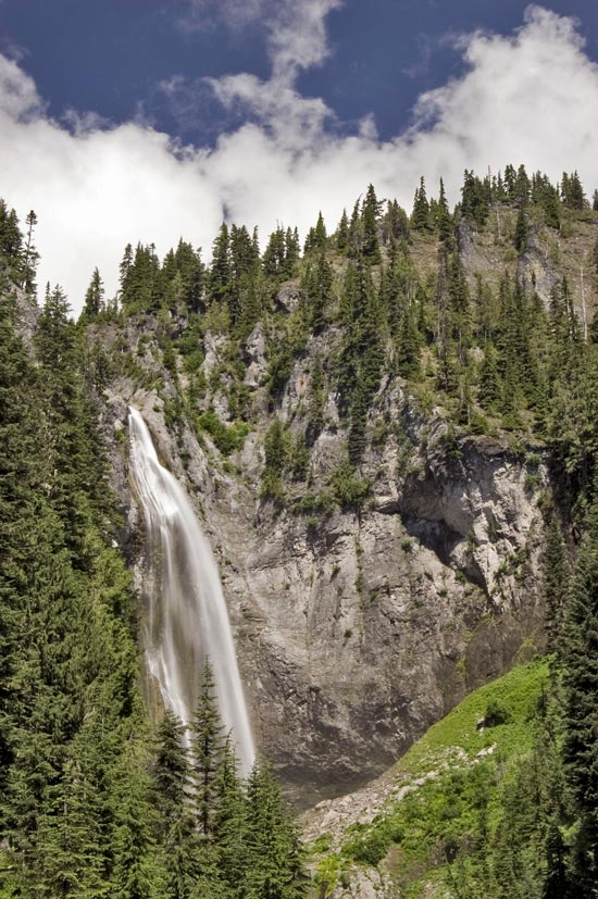 Comet Falls, Mt Rainier