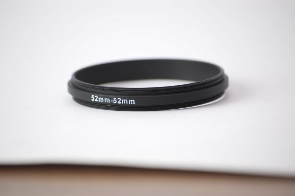 Lens reversal ring