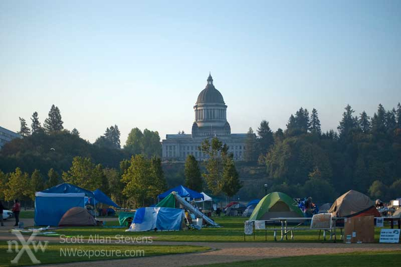 Occupy Olympia (Occupy Wall Street protest)