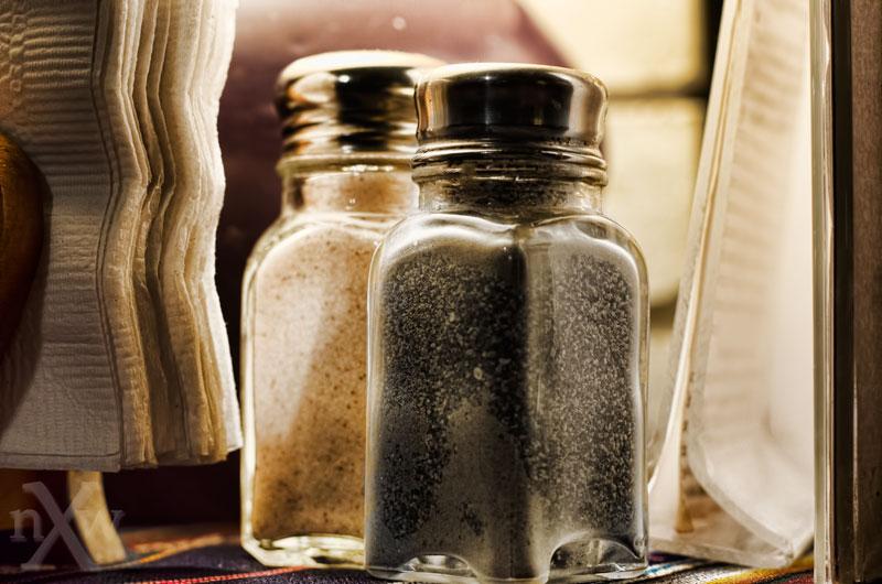Salt and pepper shakers - photo ©2012 Scott Allan Stevens, NW Exposure