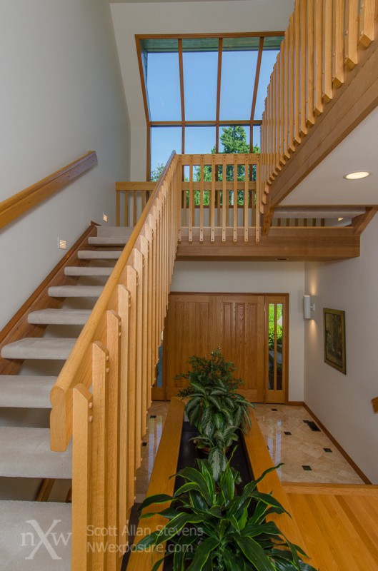 Puget Sound Waterfront Home - stairs