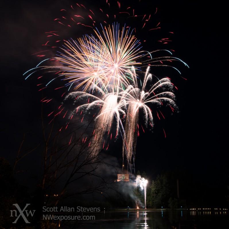 Lakefair Fireworks