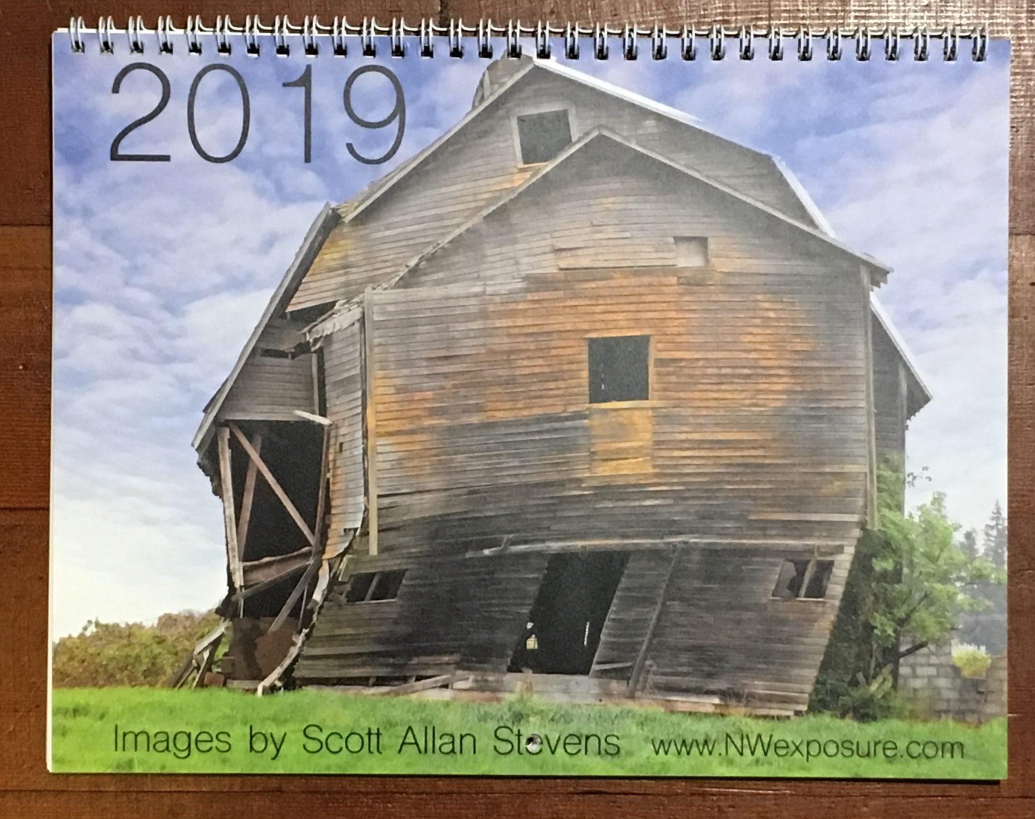 2019 calendar - front